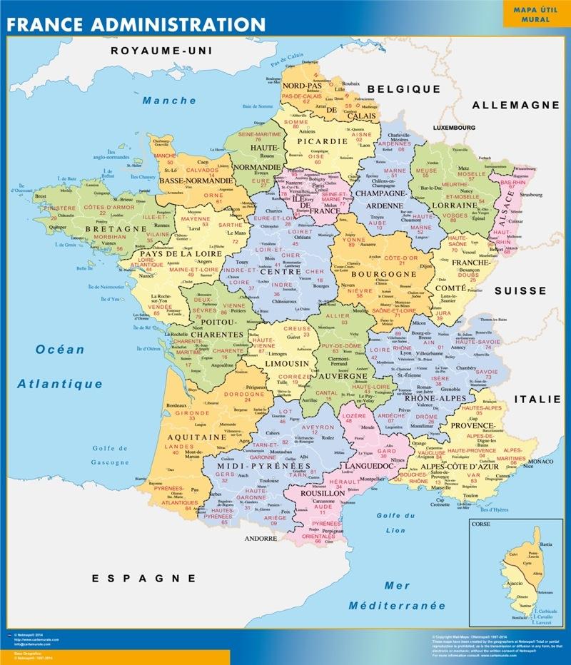 Chambéry carte de France