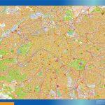 Cartes plastifiées Carte Paris plastifiée